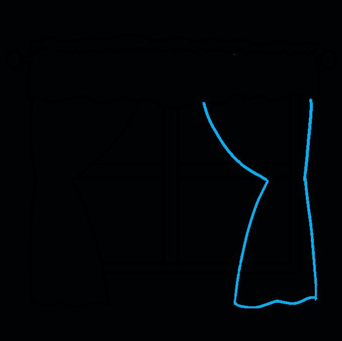 How to Draw a Window Step 06