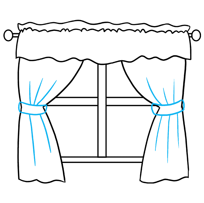 How to Draw a Window Step 07