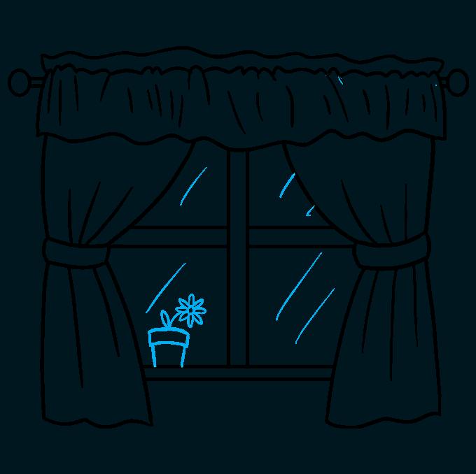 How to Draw a Window Step 09