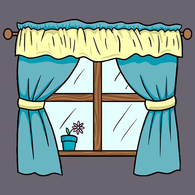 How to Draw a Window Step 10