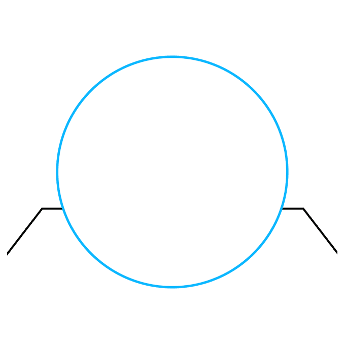 How to Draw a 3D Sphere Step 02