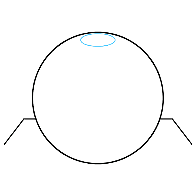 How to Draw a 3D Sphere Step 03