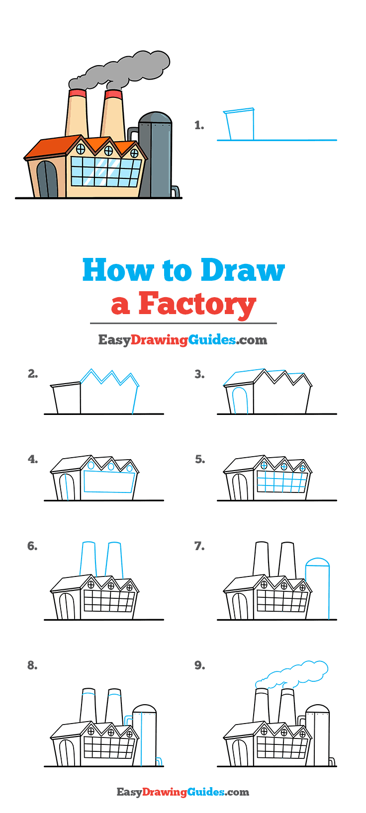How to Draw Factory