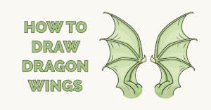 How to Draw Dragon Wings Featured Image