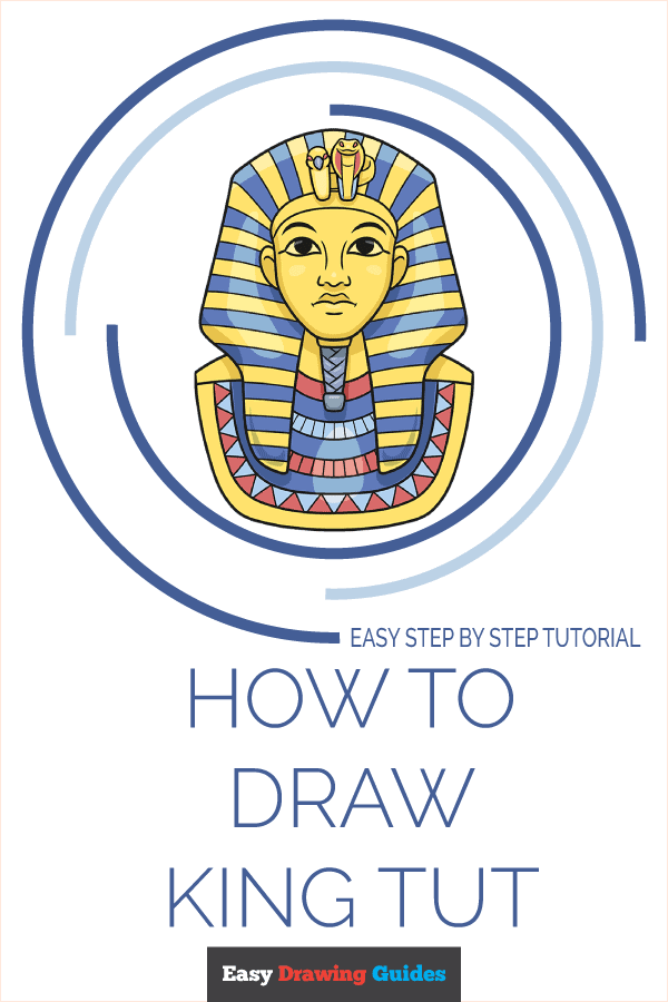 How to Draw King Tut Pinterest Image