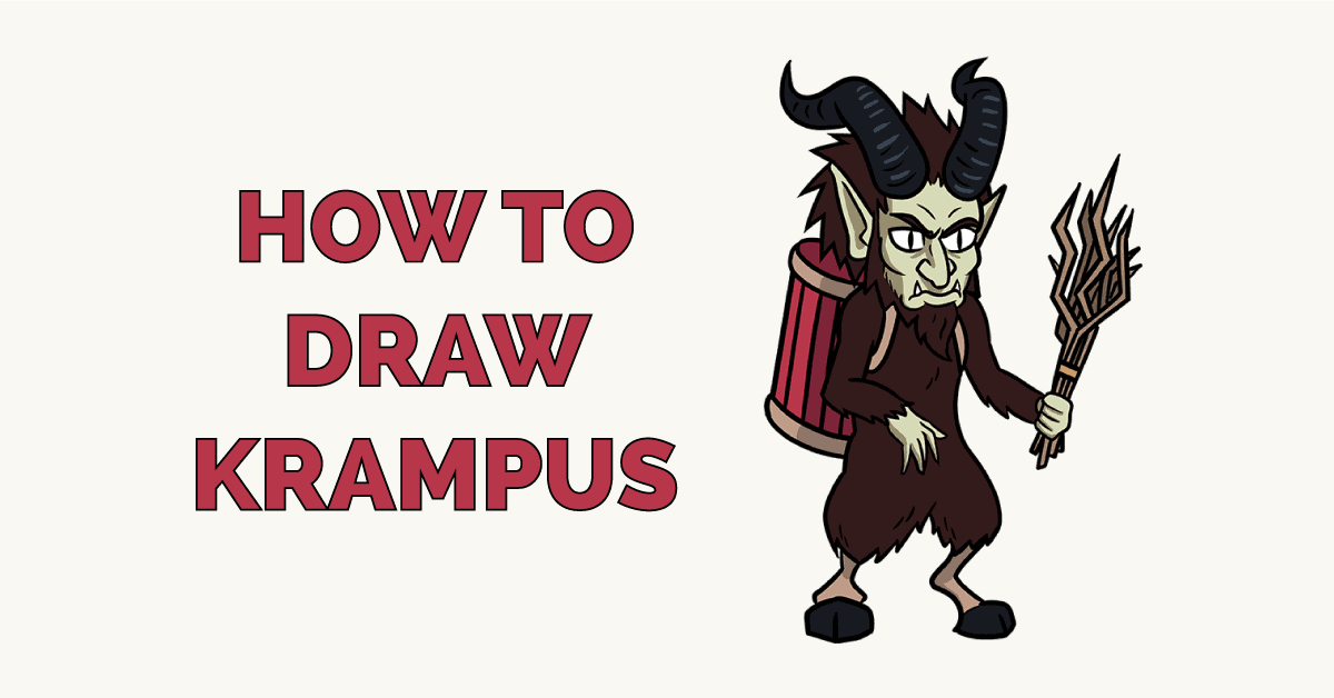 How to Draw Krampus Featured Image