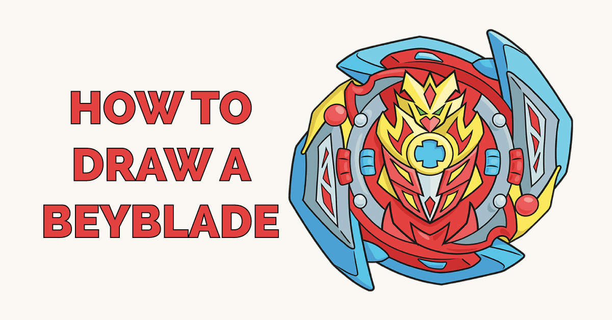 How to Draw a Beyblade Featured Image