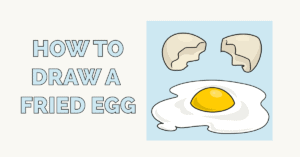 How to Draw a Fried Egg Featured Image