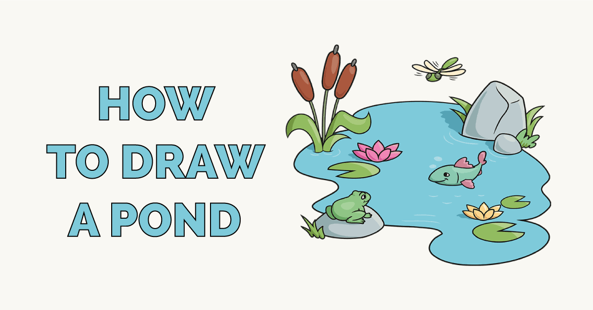 How to Draw a Pond Featured Image