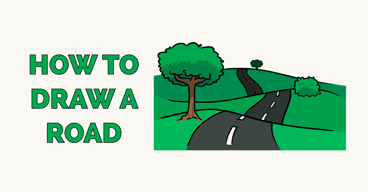 How to Draw a Road Featured Image