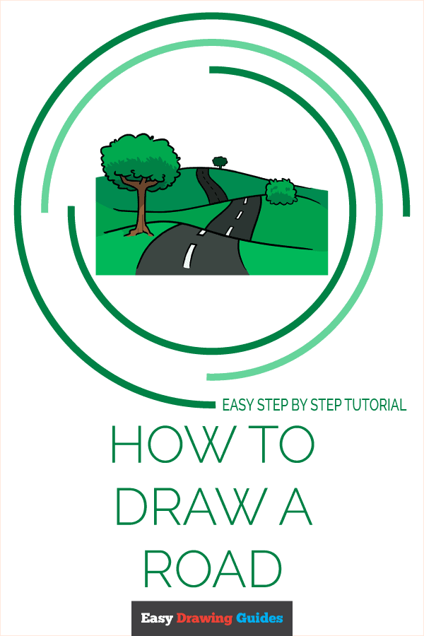 How to Draw Road | Share to Pinterest