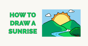 How to Draw a Sunrise Featured Image