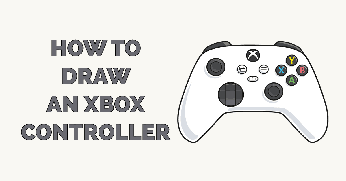 How to Draw an Xbox Controller Featured Image