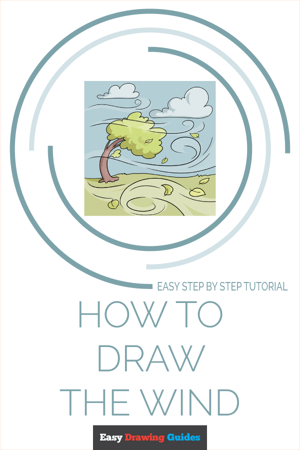 How to Draw the Wind Pinterest Image