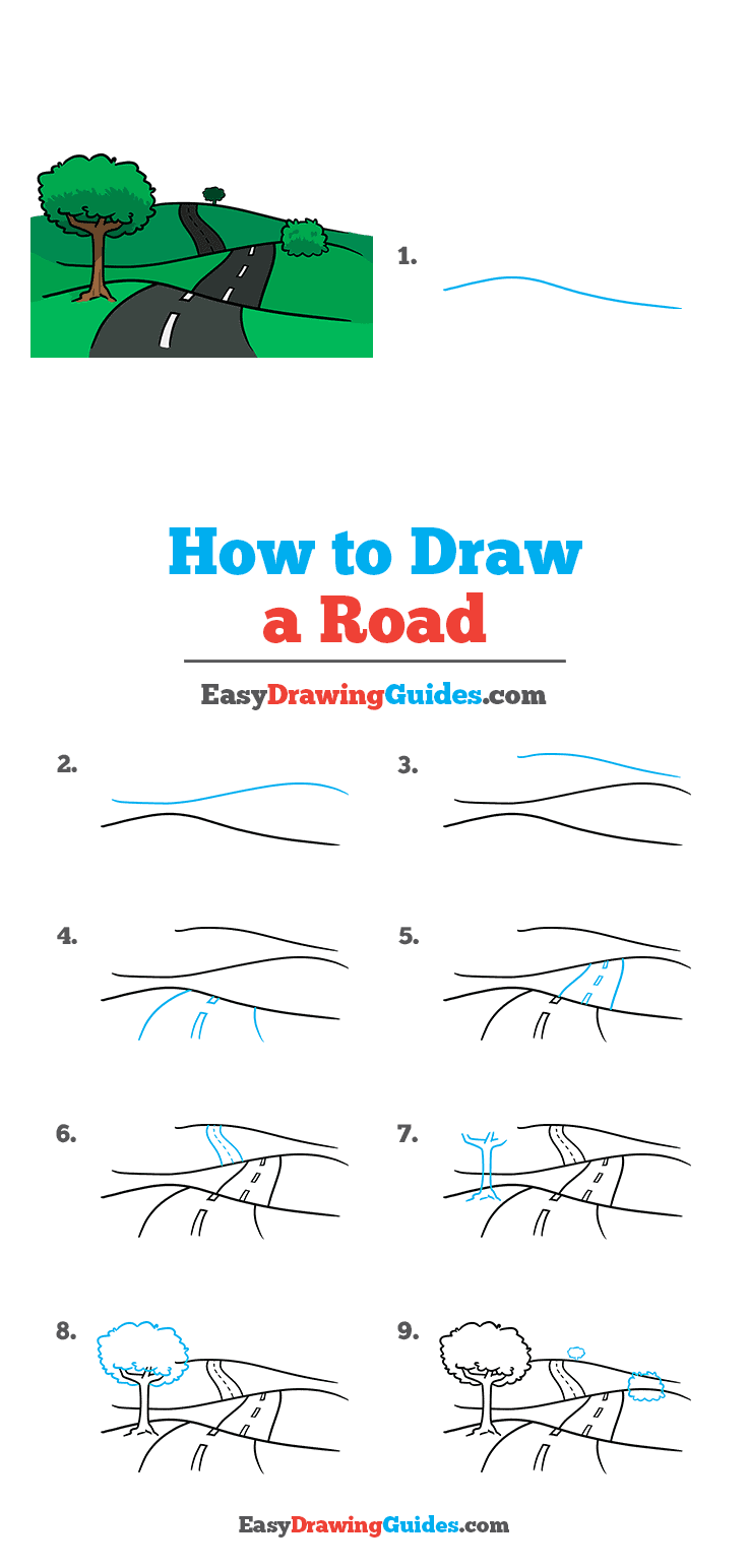 How to Draw Road