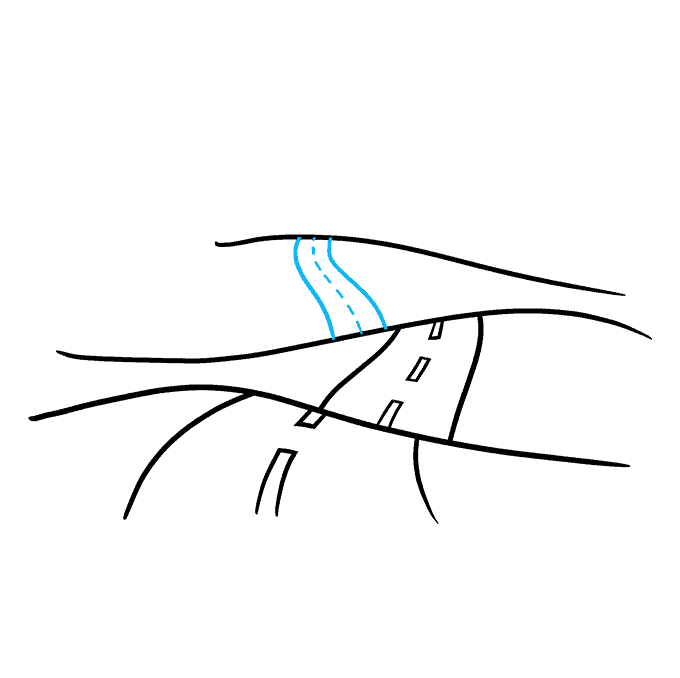 How to Draw Road: Step 6