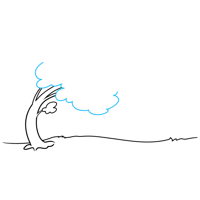 How to Draw the Wind Step 03