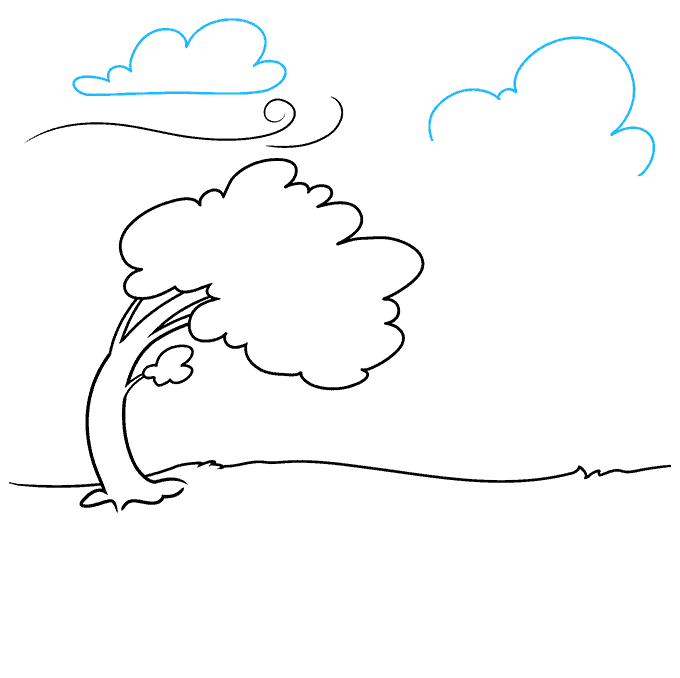 How to Draw the Wind Step 05
