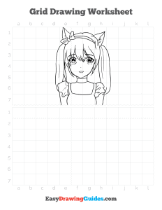 717 how to draw an anime cat girl - ebook grid page thumbnail 300h