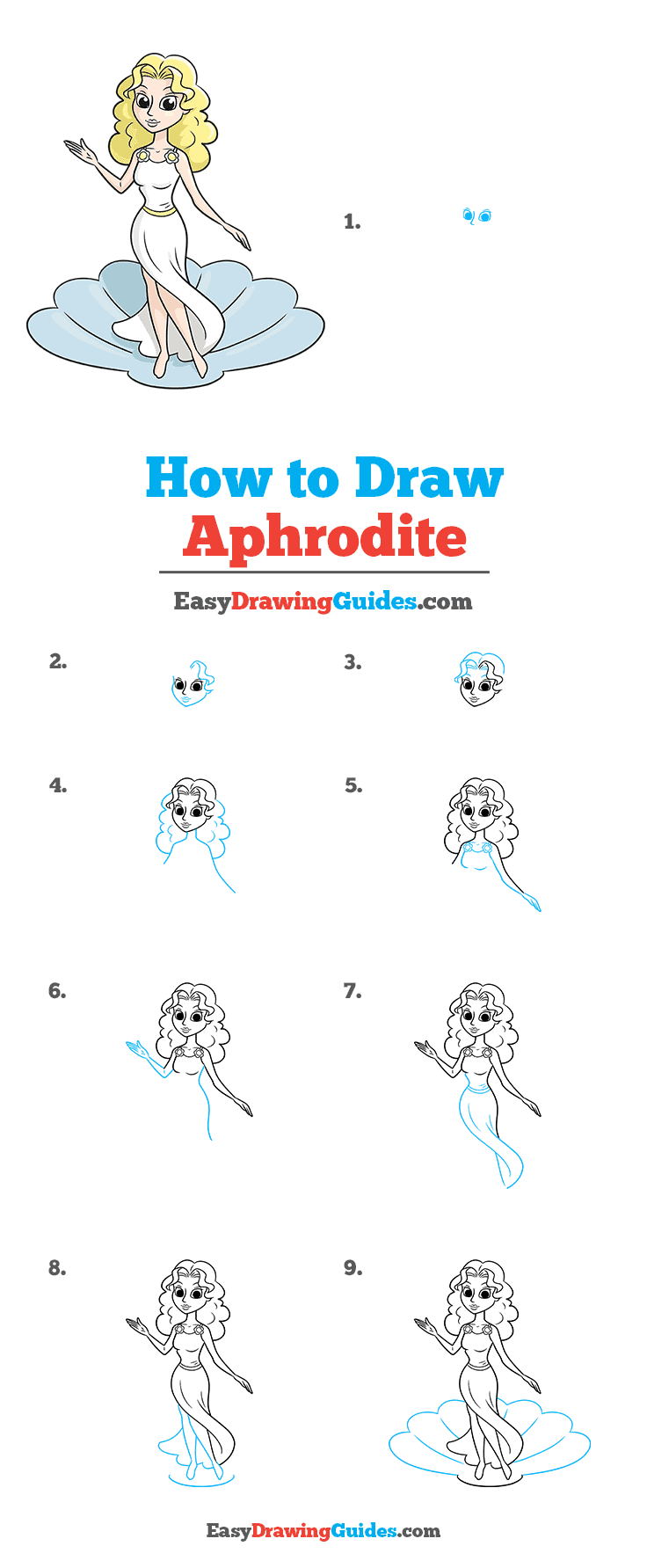How to Draw Aphrodite