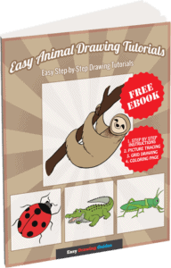 Easy Animal Drawing Tutorials - 3D ebook cover
