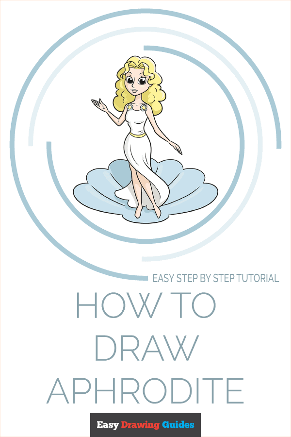 How to Draw Aphrodite | Share to Pinterest