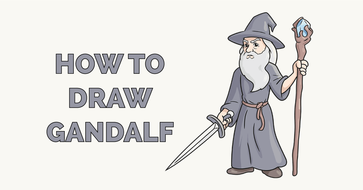How to Draw Gandalf Featured Image