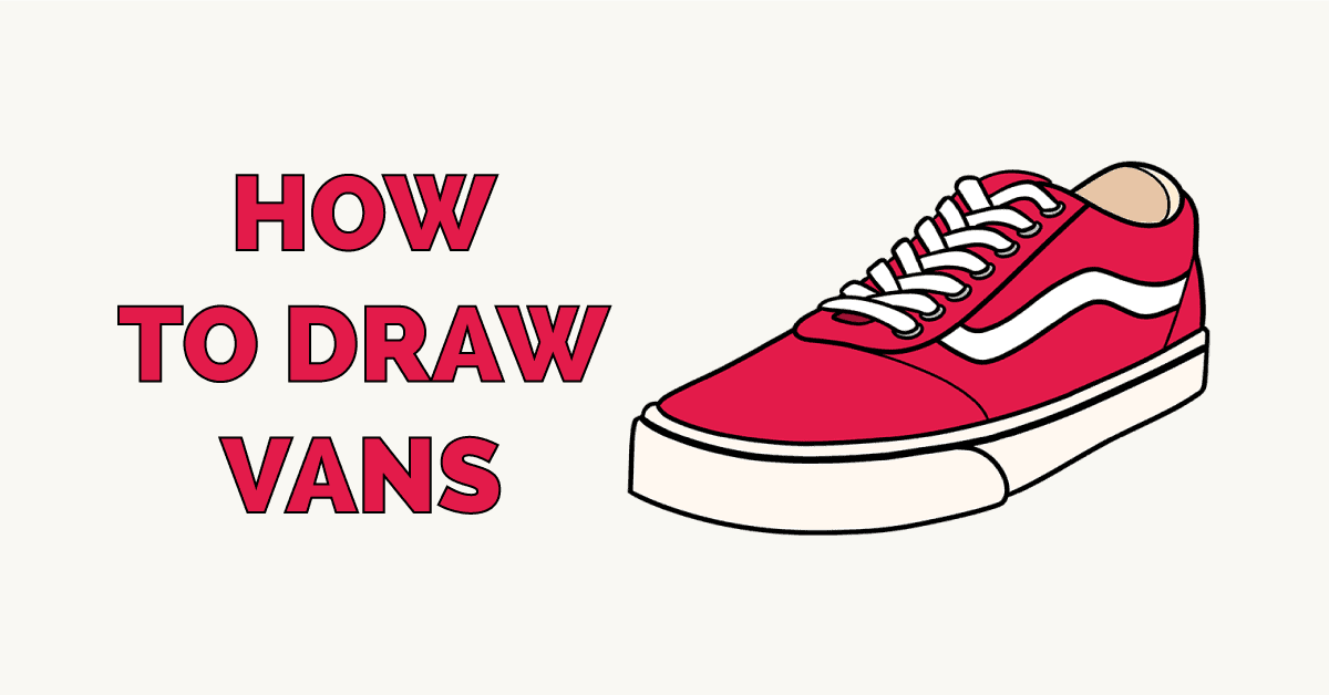 How to Draw Vans Featured Image
