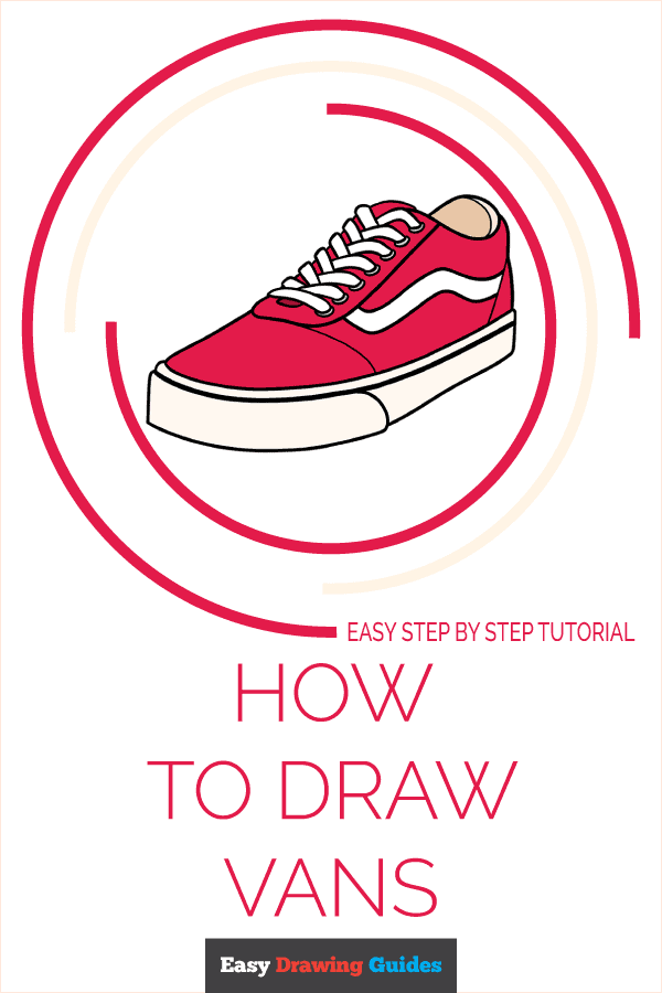 How to Draw Vans Pinterest Image