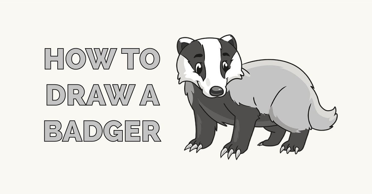 How to Draw a Badger Featured Image