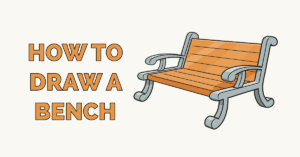 How to Draw a Bench Featured Image