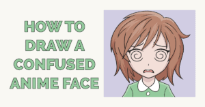 How to Draw a Confused Anime Face Featured Image
