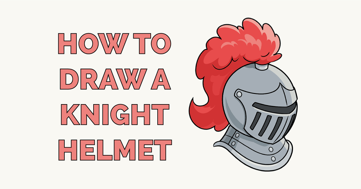 How to Draw a Knight Helmet Featured Image