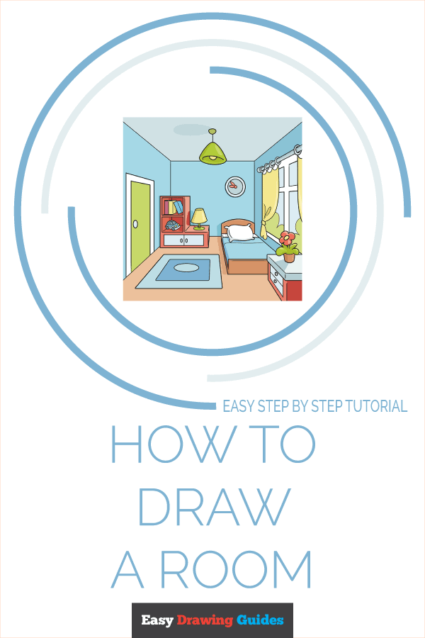 How to Draw a Room Pinterest Image
