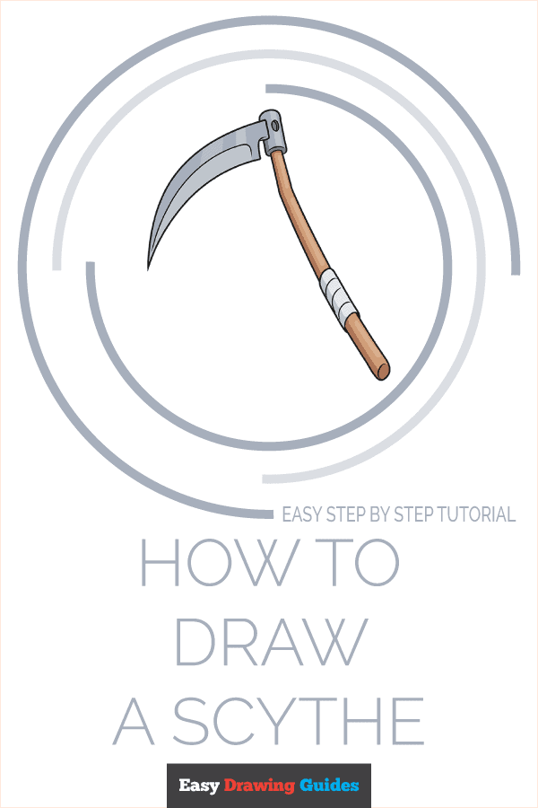 How to Draw a Scythe Pinterest Image