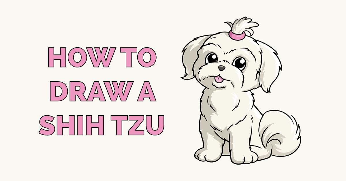 How to Draw a Shih Tzu Featured Image
