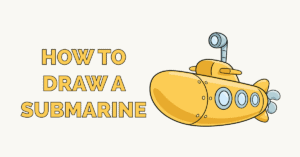How to Draw a Submarine Featured Image