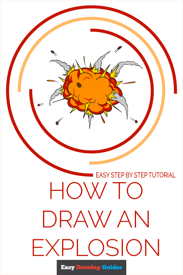 How to Draw an Explosion Pinterest Image
