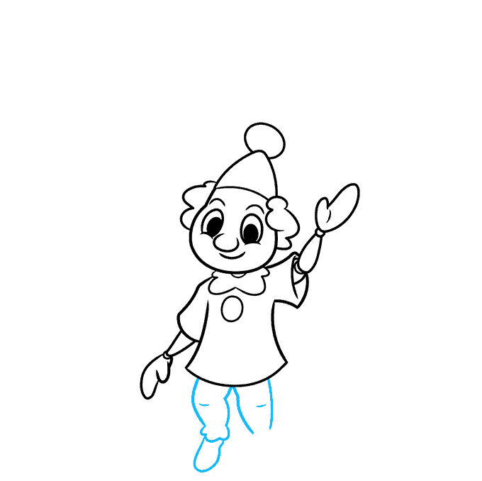 How to Draw a Marionette Puppet Step 07