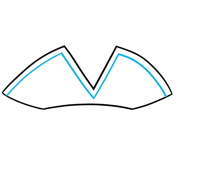 How to Draw a Pirate Hat Step 03