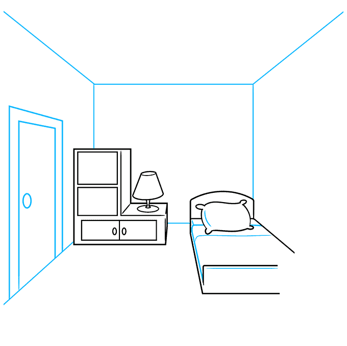How to Draw a Room Step 03
