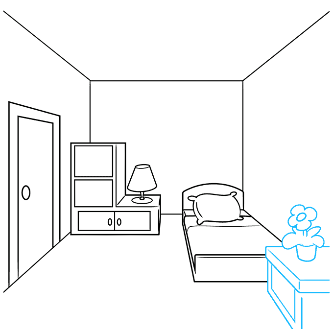 How to Draw a Room Step 04