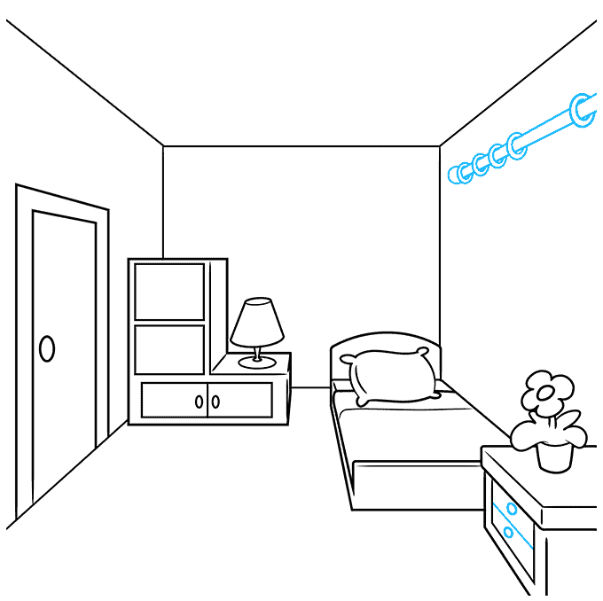 How to Draw a Room Step 05