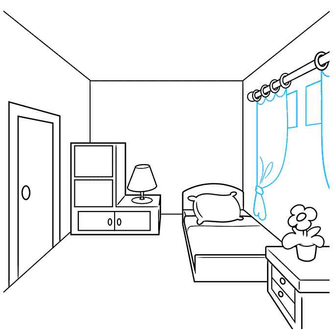 How to Draw a Room Step 06