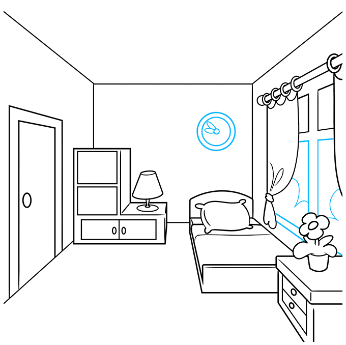 How to Draw a Room Step 07