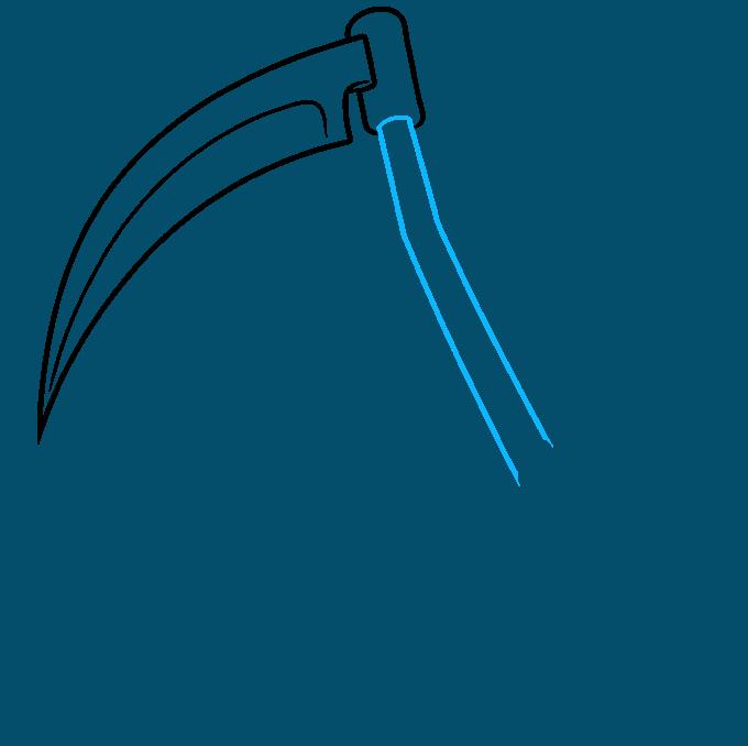 How to Draw a Scythe Step 05