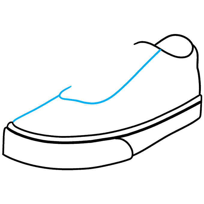 How to Draw Vans Step 05