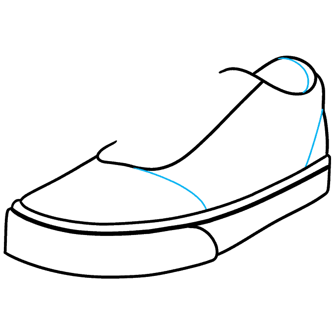How to Draw Vans Step 06