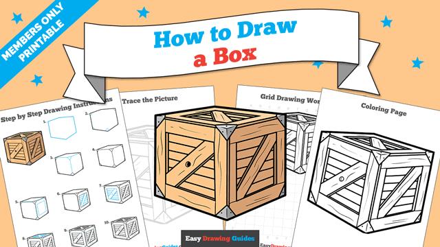 Printables thumbnail: How to Draw a Box