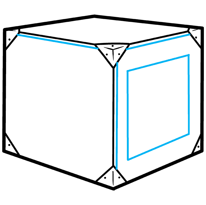 How to Draw a Box Step 05